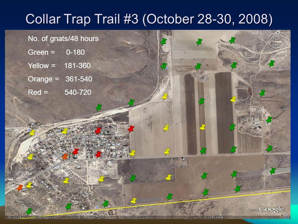Collar Trap Trail #3 (October 28-30, 2008) No.