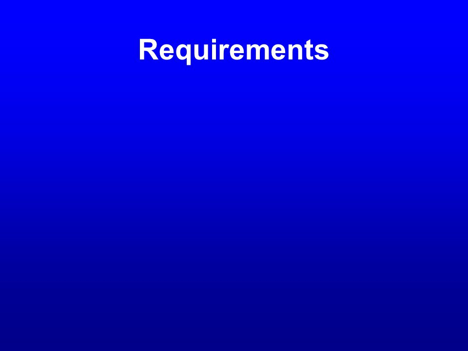 Requirements Sources Research User Interviews Focus Groups User Groups