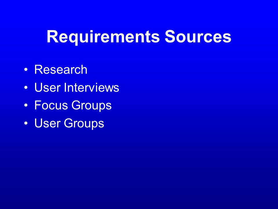 Interface Control Document Maps user interface to application Derived from UI Specification Satisfies UI requirements Standard reference for the GUI developers so that they can look up and understand the interface methods exposed by the Back-End components