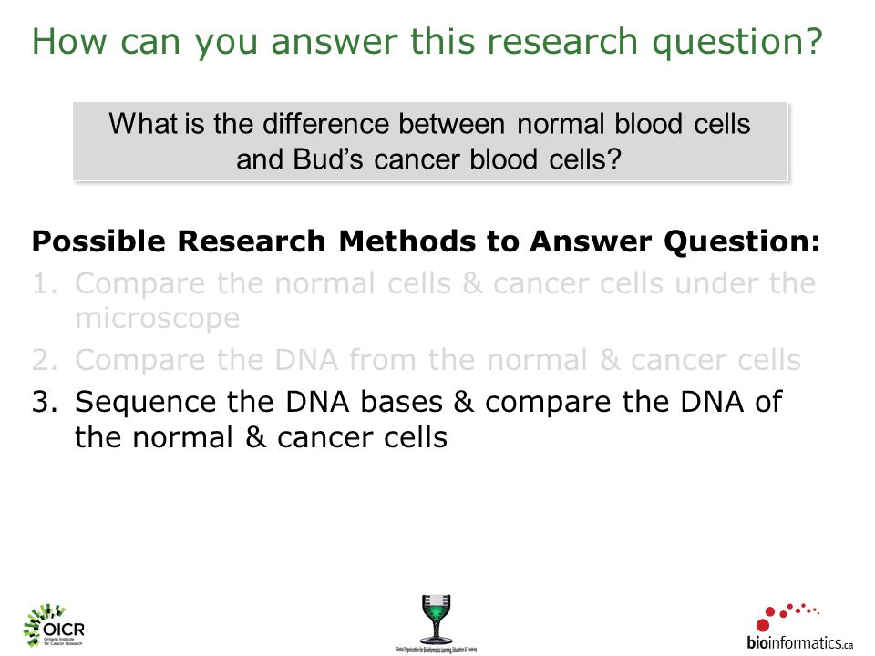 How can you answer this research question.