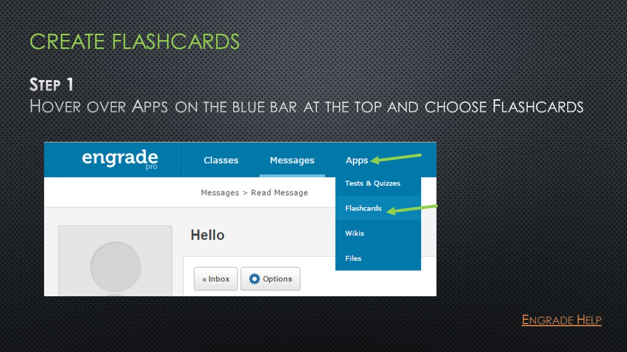 Permissions: View : This user can only view your flashcards.