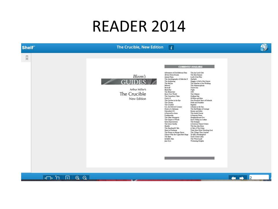 READER 2014