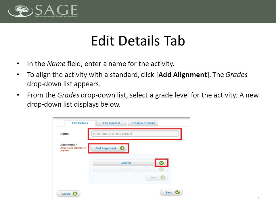 To create a rubric for the activity, hover your mouse over the Hand Scoring Rubric field and click [Edit].