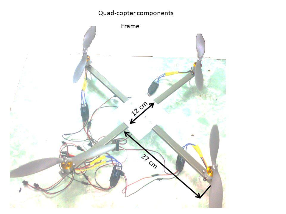Quad-copter components Frame