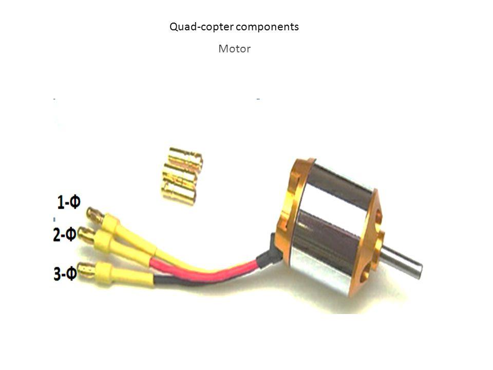 Quad-copter components Motor