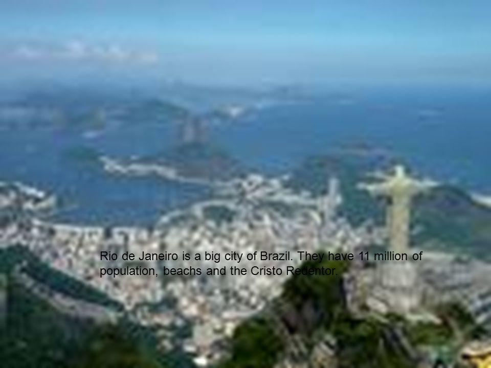 Rio de Janeiro is a big city of Brazil.