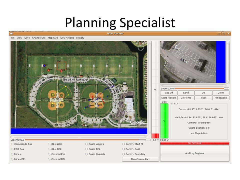 Planning Specialist