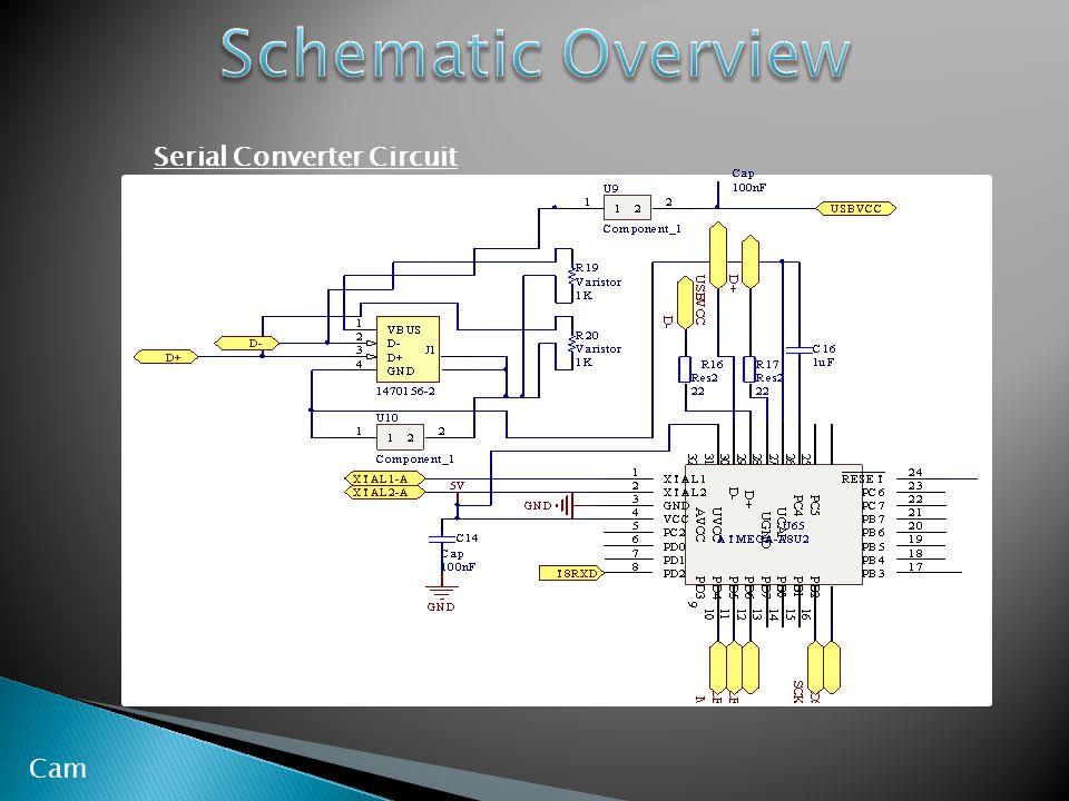 Serial Converter Circuit Cam