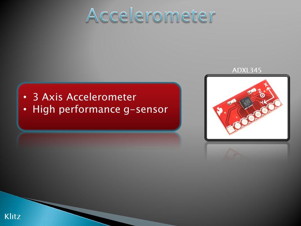 ADXL345 3 Axis Accelerometer High performance g-sensor Klitz