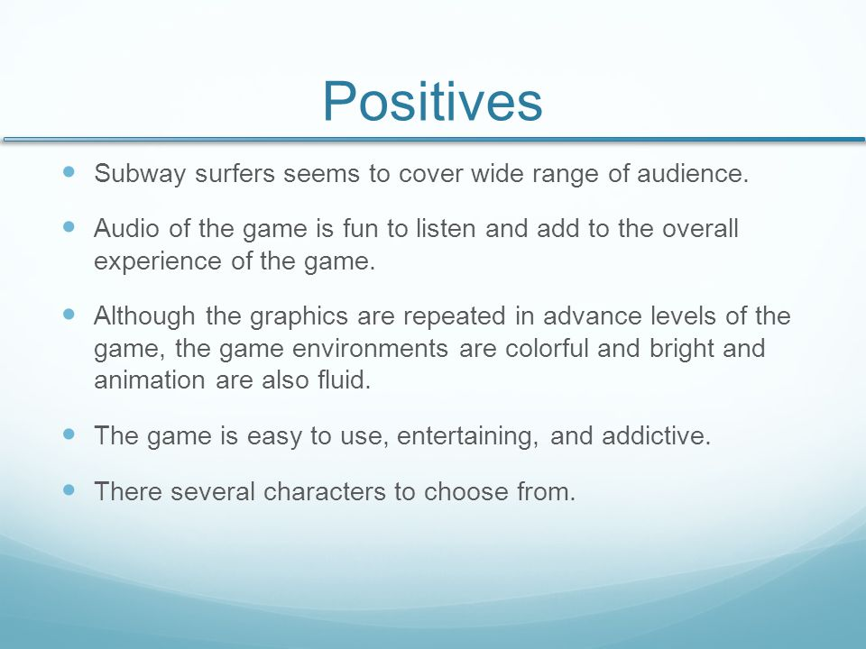 Negatives You can't customize controls which forces you to use 2 hands for the most part.