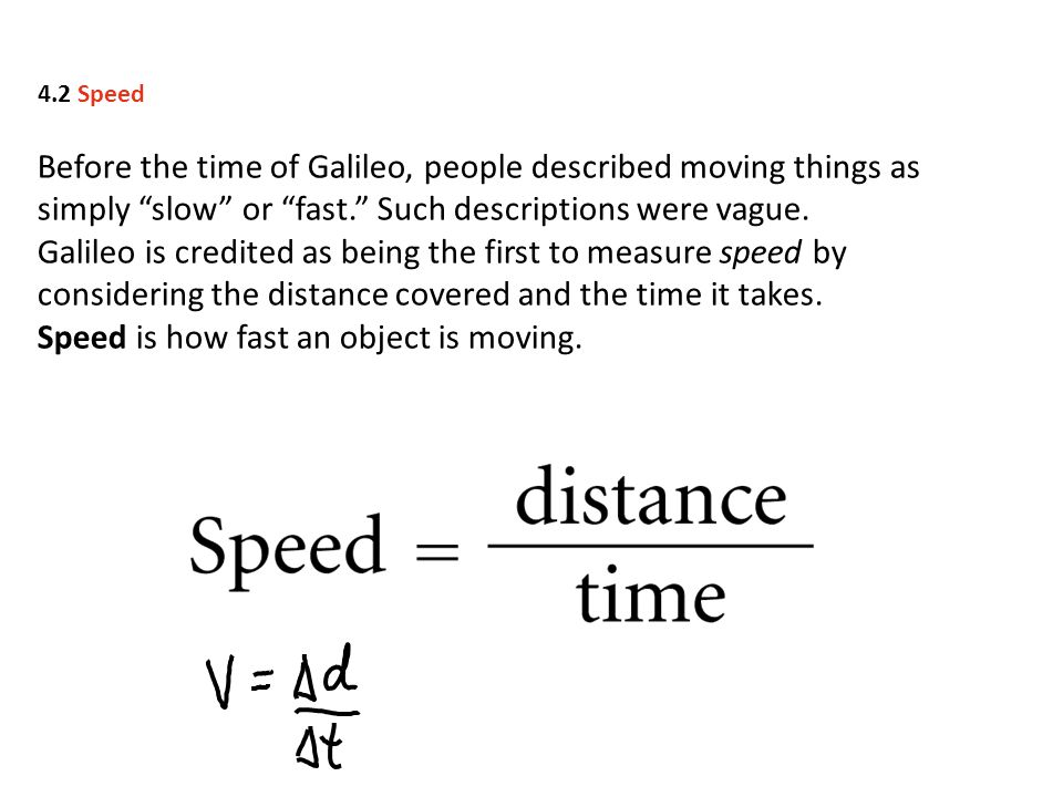 Constant Velocity Constant speed means steady speed.