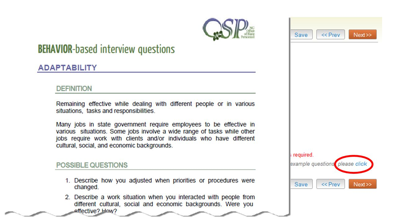 A list of interview questions you will be asking your selected and approved candidates.