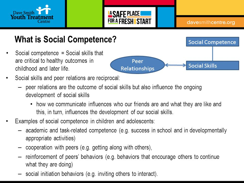 What is Social Competence.