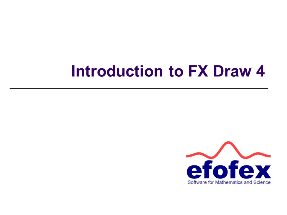 Introduction to FX Draw 4