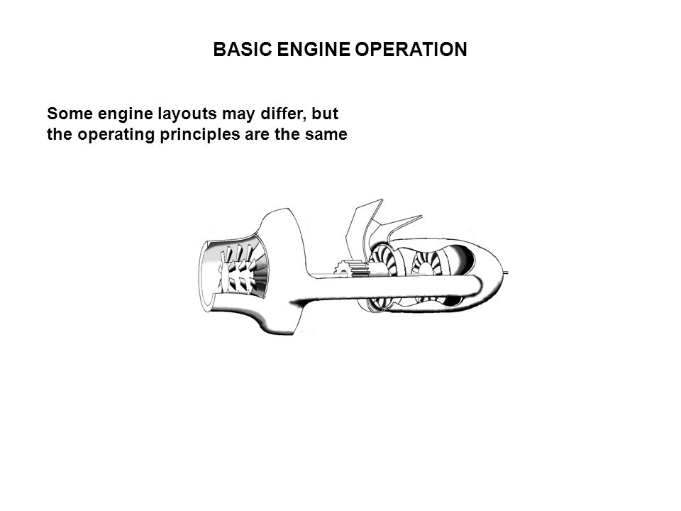 BASIC ENGINE OPERATION Some engine layouts may differ, but the operating principles are the same