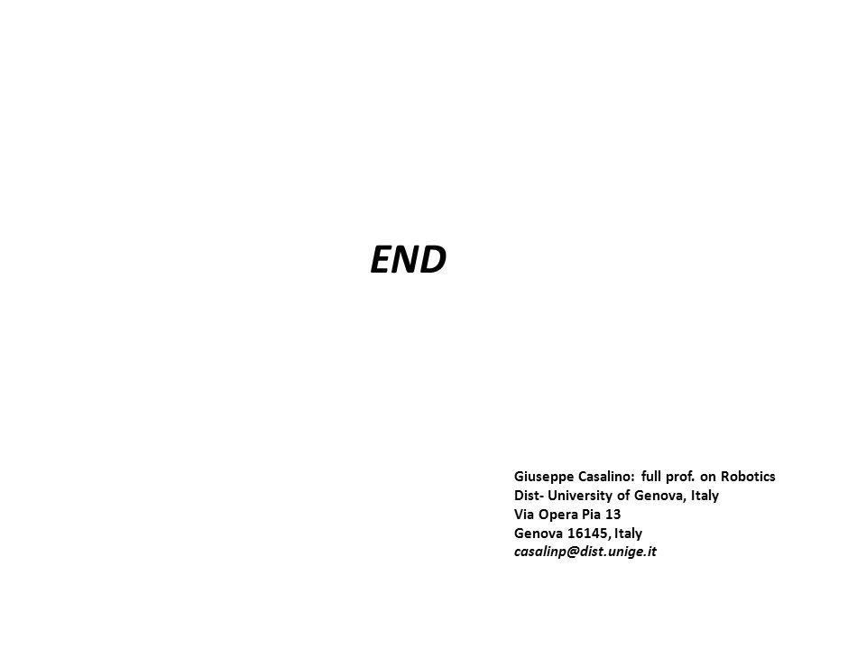 END Giuseppe Casalino: full prof.