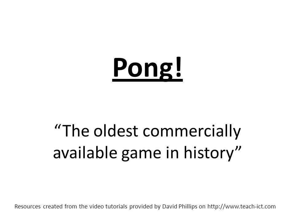 Pong.