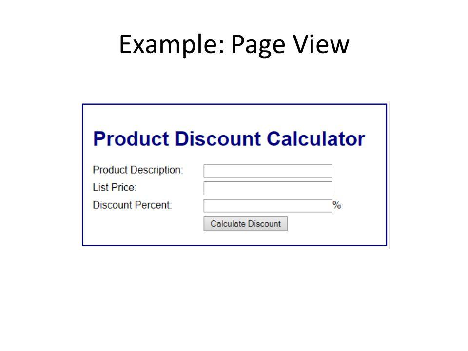 HTML Code Product Discount Calculator Product Description: List Price: Discount Percent: %