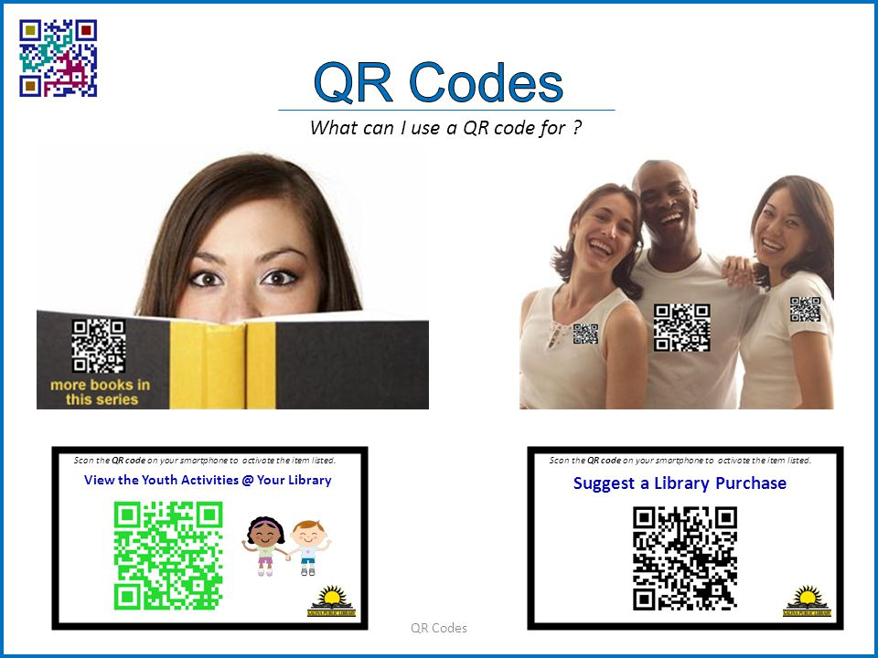QR Codes What can I use a QR code for .