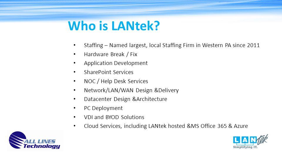 Who is LANtek.