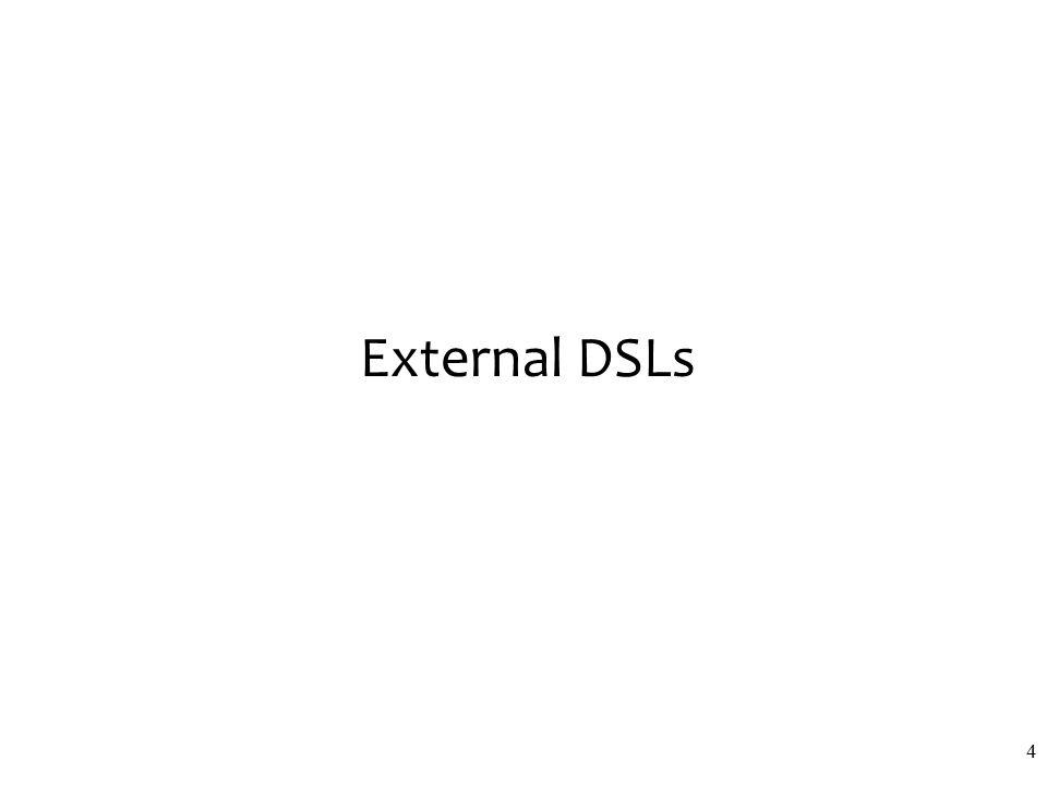 External DSLs 4