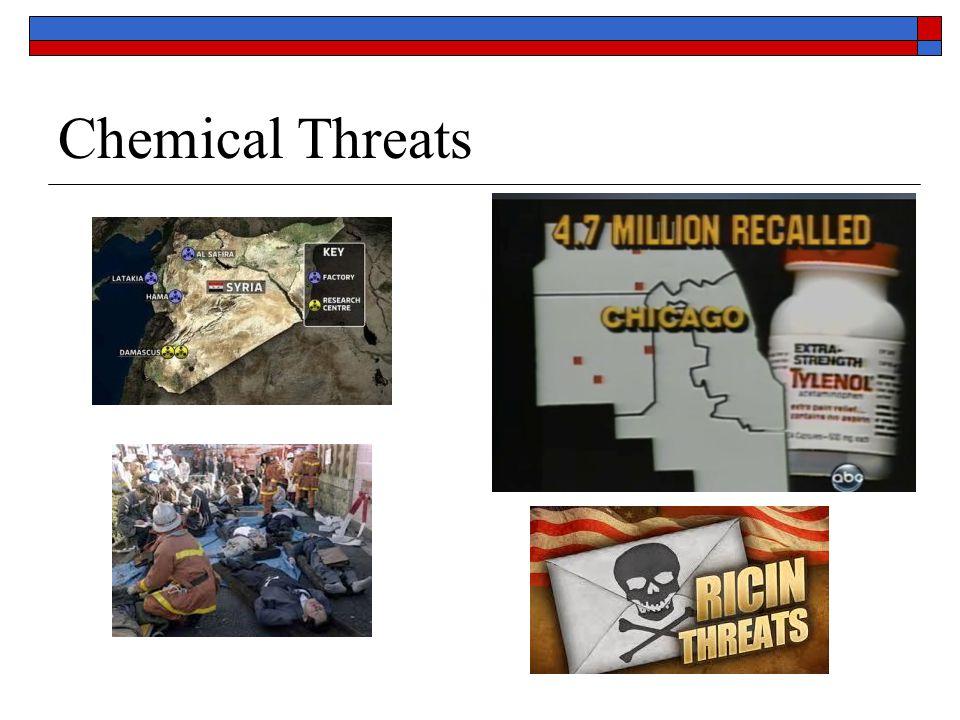 Chemical Threats