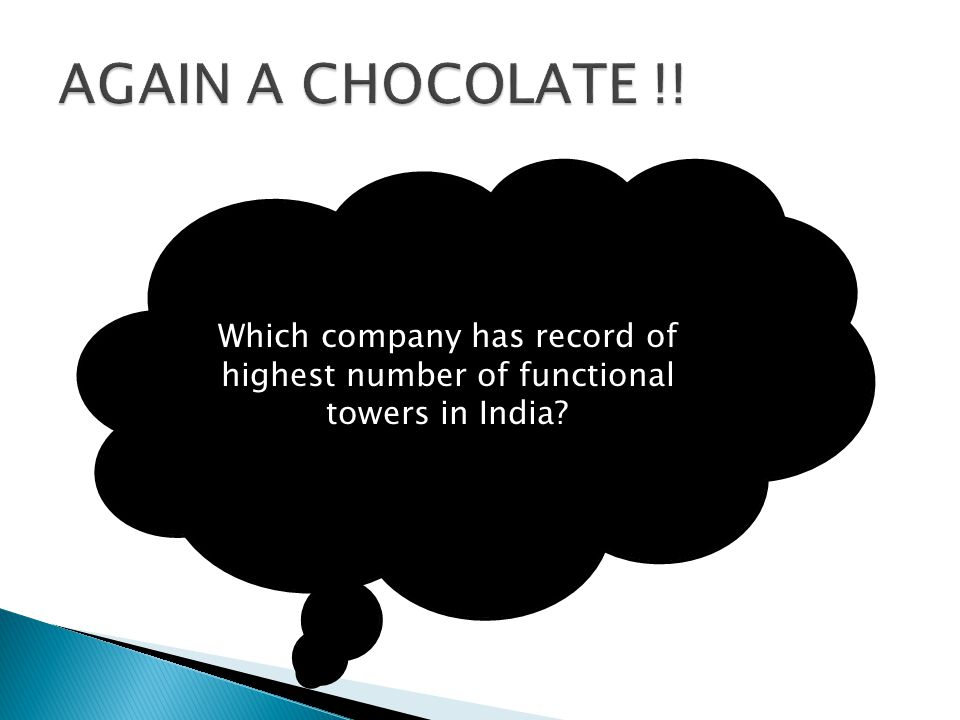 Which company has record of highest number of functional towers in India