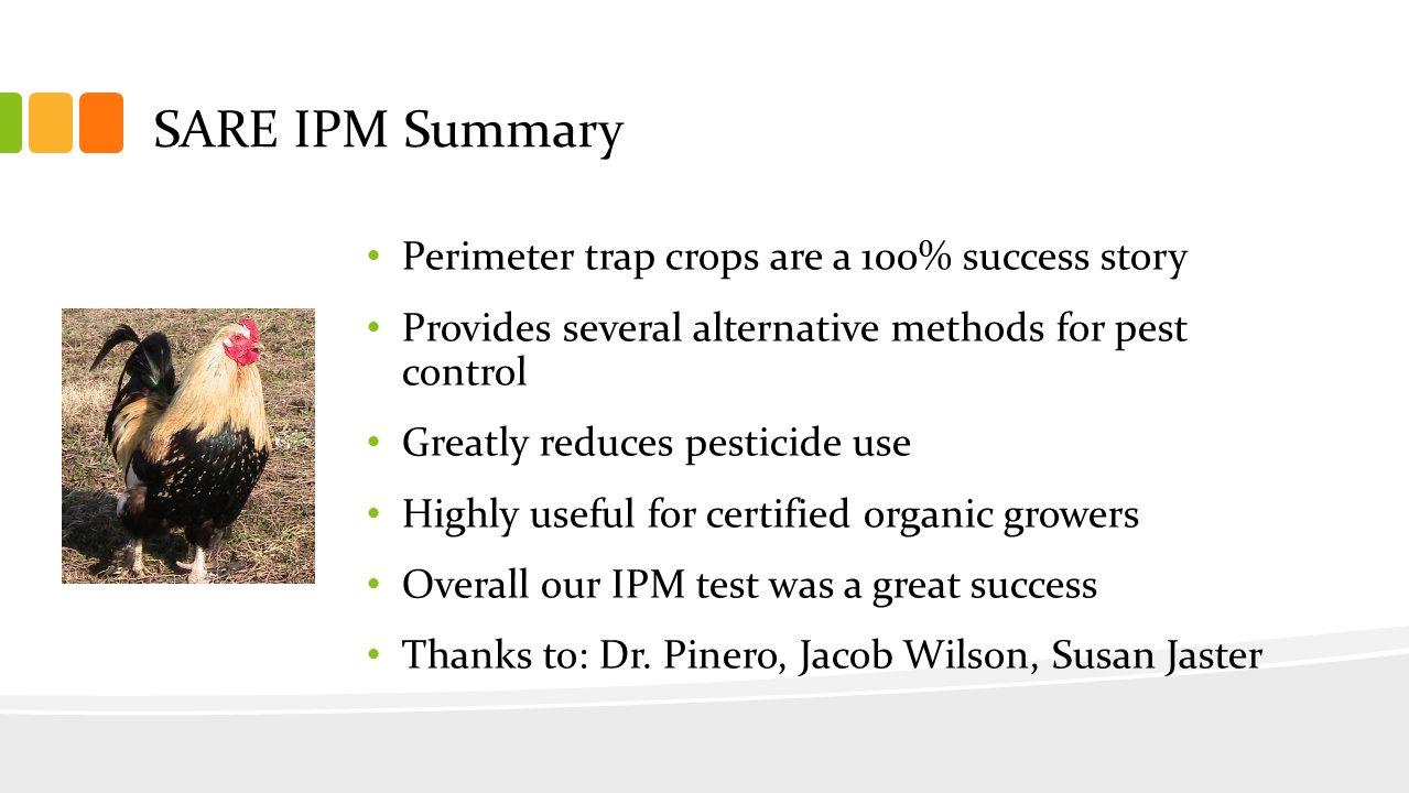 Perimeter Trap Crops Rocky Creek Valley Farm Questions