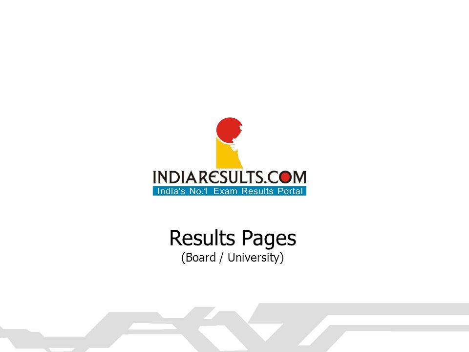 Results Pages (Board / University)