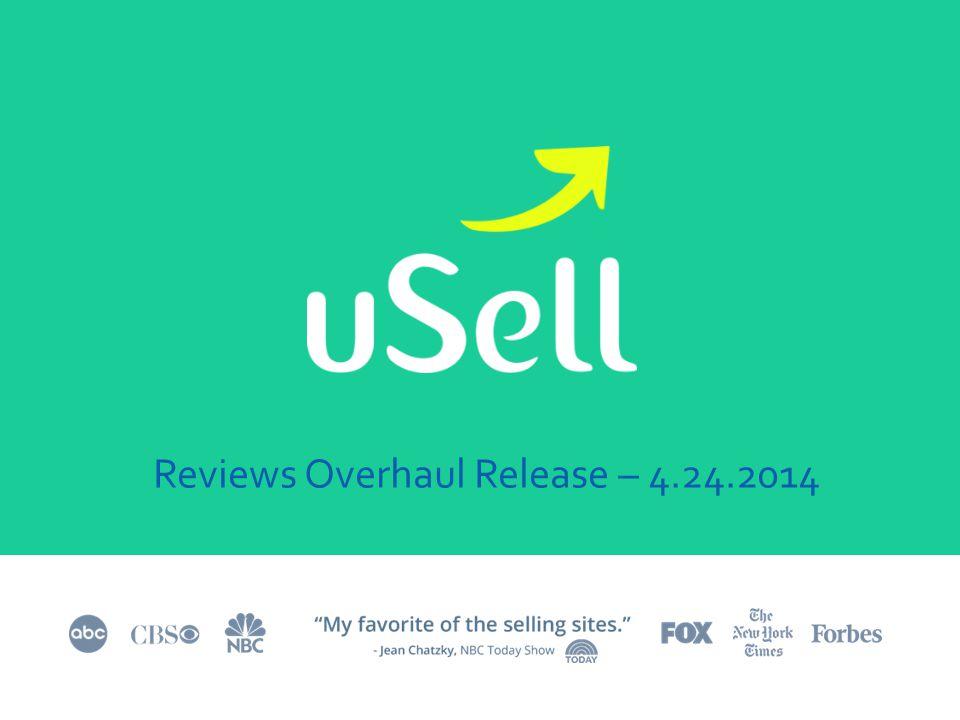 Reviews Overhaul Release – 4.24.2014