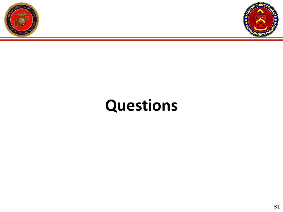 31 Questions
