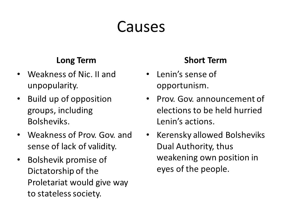 Causes Long Term Weakness of Nic. II and unpopularity.
