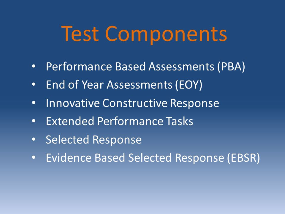 Assessment Results Students score reports from the Spring 2015 will be available in early October 2015 The passing score will be announced in the fall of 2015 Students are NOT required to retake the assessment or retake a course based on their PARCC score.