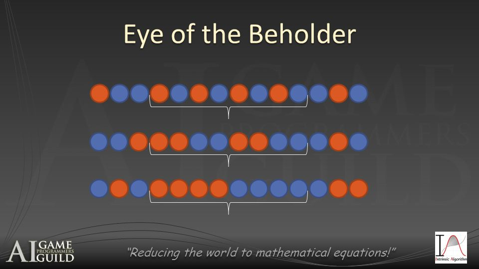 Reducing the world to mathematical equations! Eye of the Beholder
