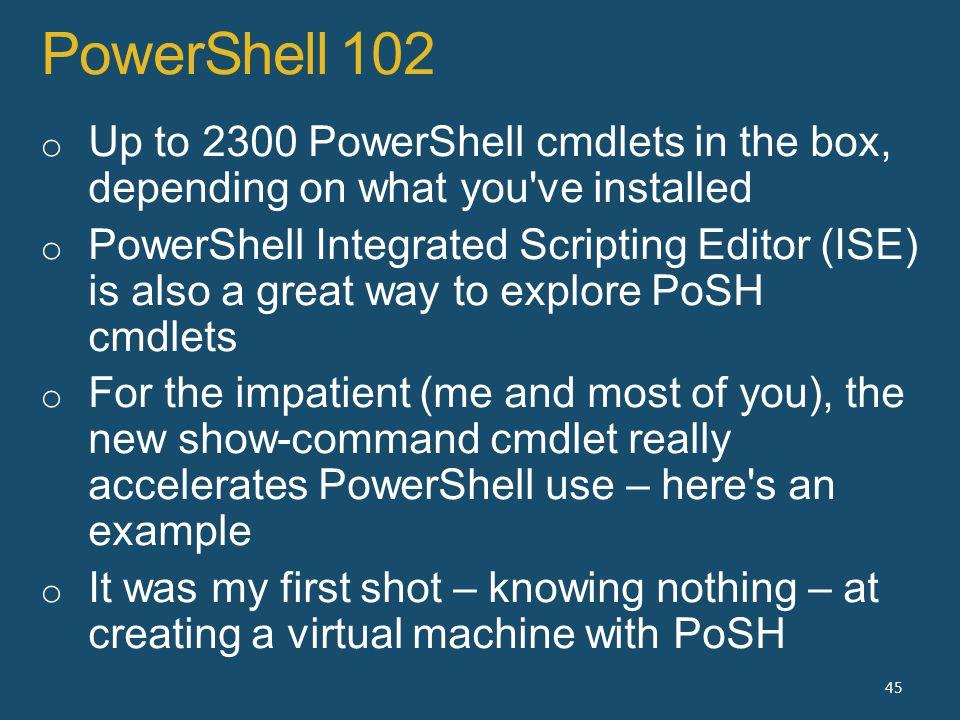 PowerShell 102 45