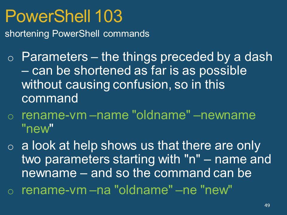 PowerShell 103 49