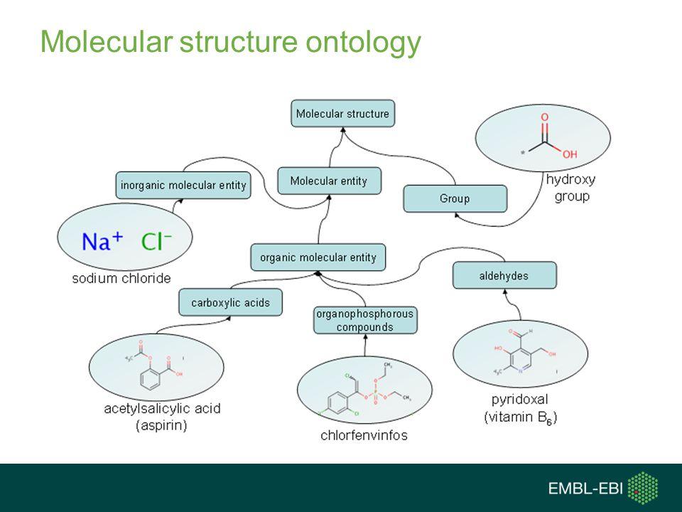 Molecular structure ontology