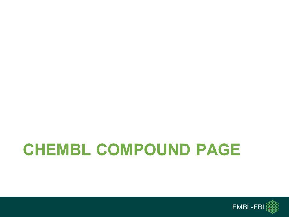 CHEMBL COMPOUND PAGE