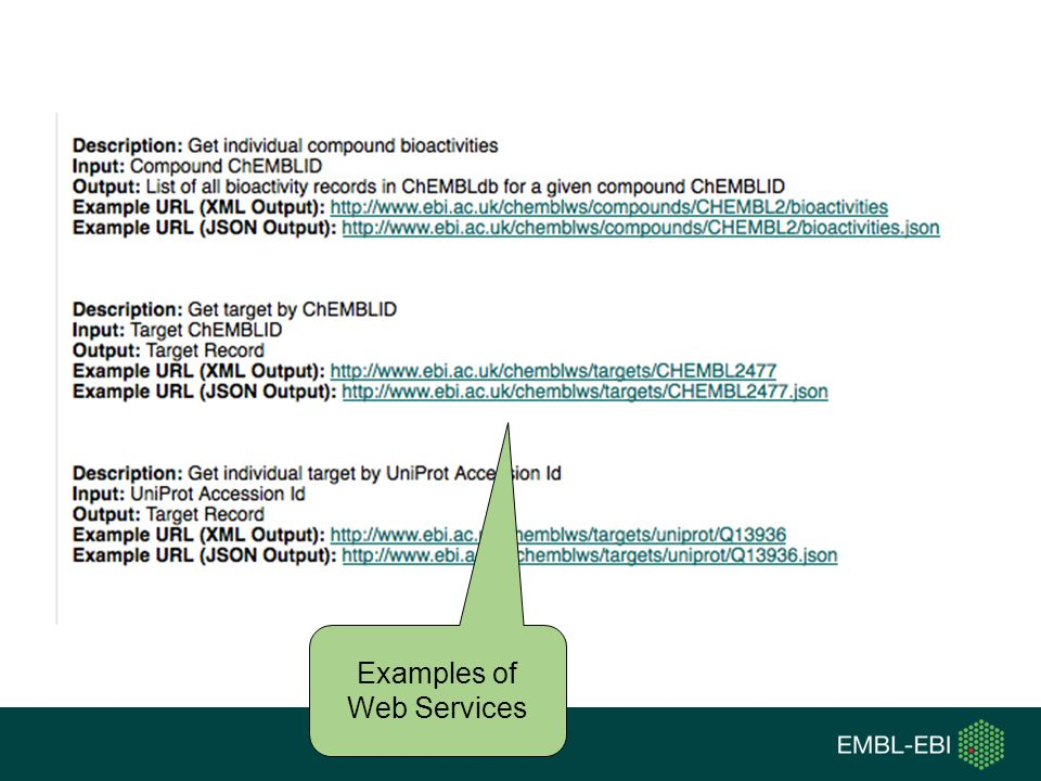 Examples of Web Services
