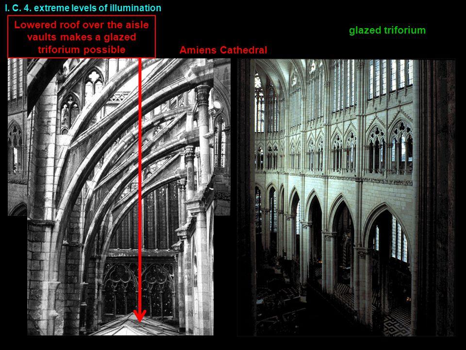 Amiens Cathedral glazed triforium I. C. 4.
