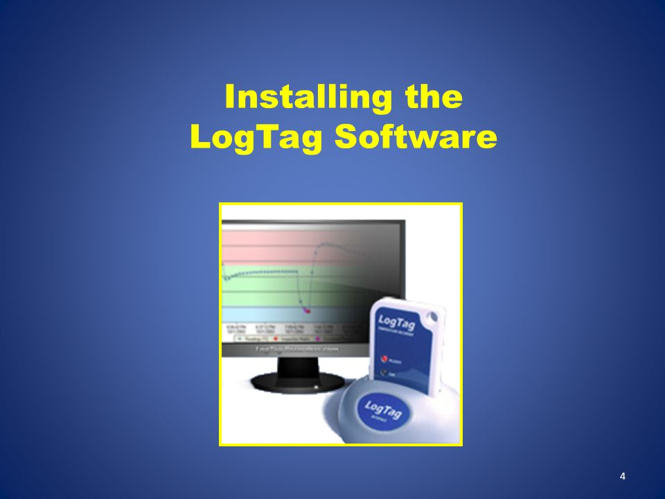 Select the drive where the LogTag files will be stored.