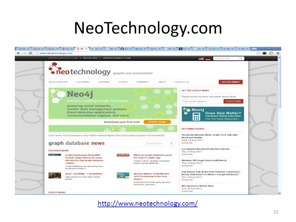 NeoTechnology.com 15 http://www.neotechnology.com/