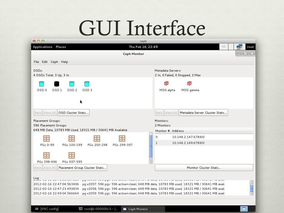 GUI Interface