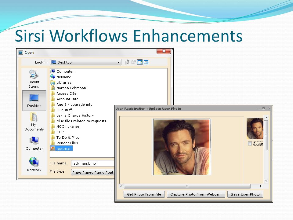 Sirsi Workflows Enhancements
