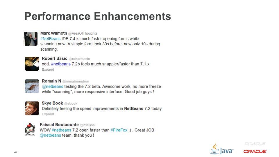 48 Performance Enhancements