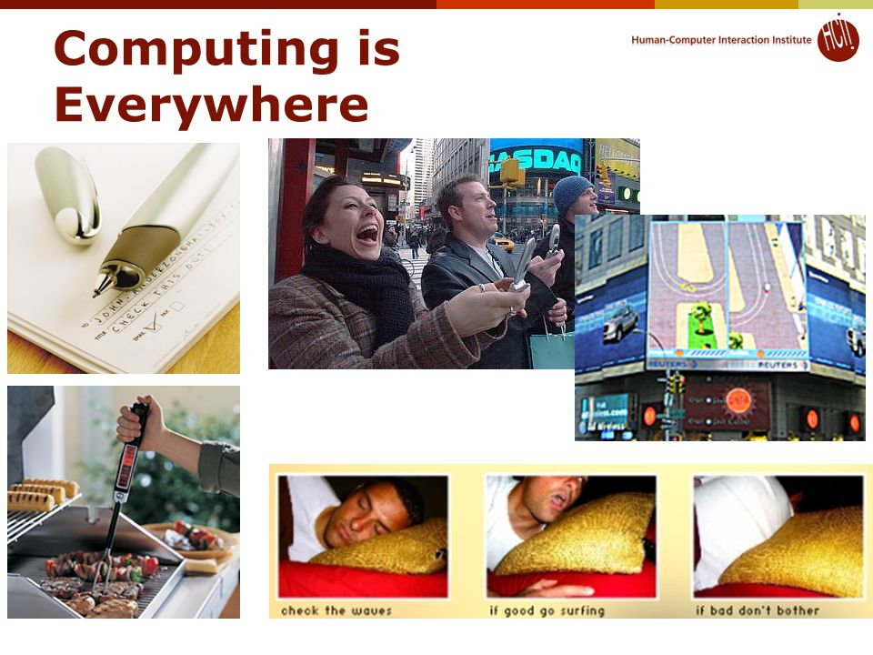 Computing is Everywhere © 2015 - Brad Myers16