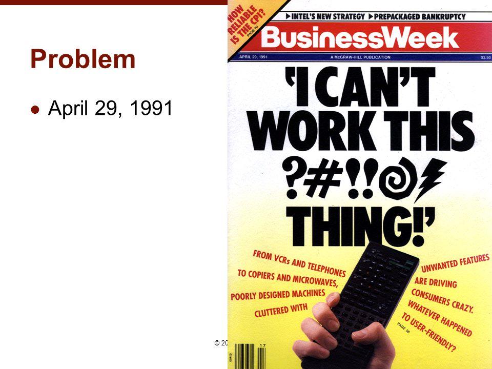 Problem April 29, 1991 24© 2015 - Brad Myers