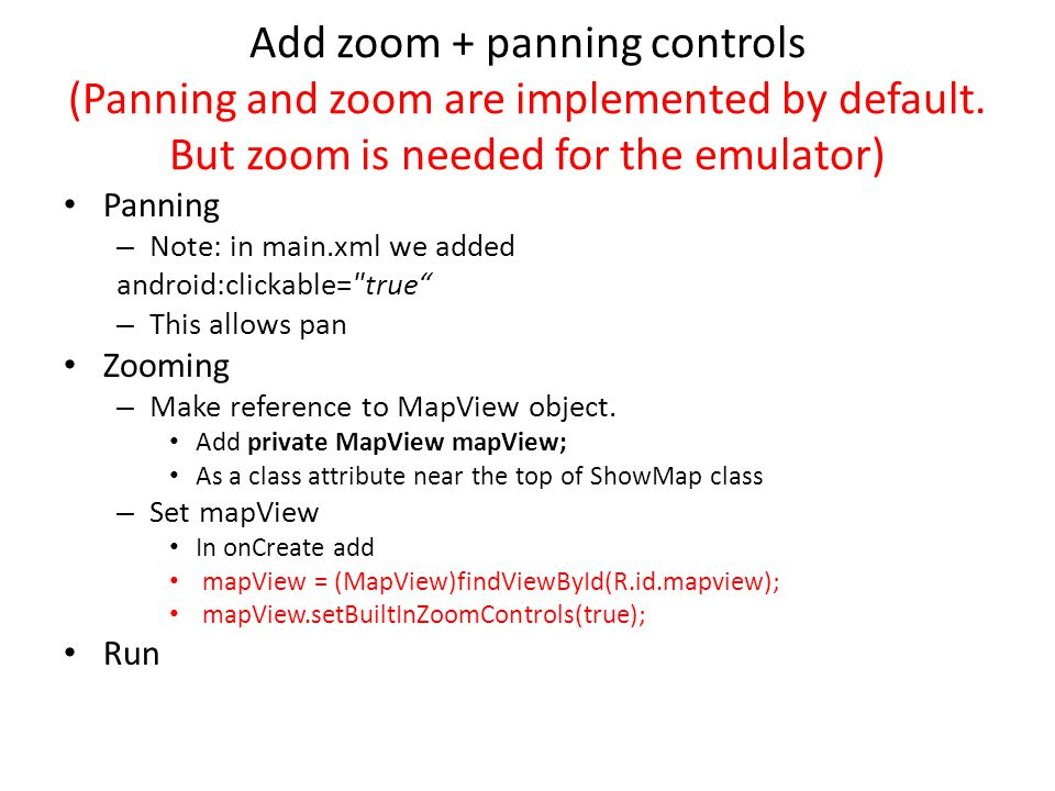 Add zoom + panning controls (Panning and zoom are implemented by default.