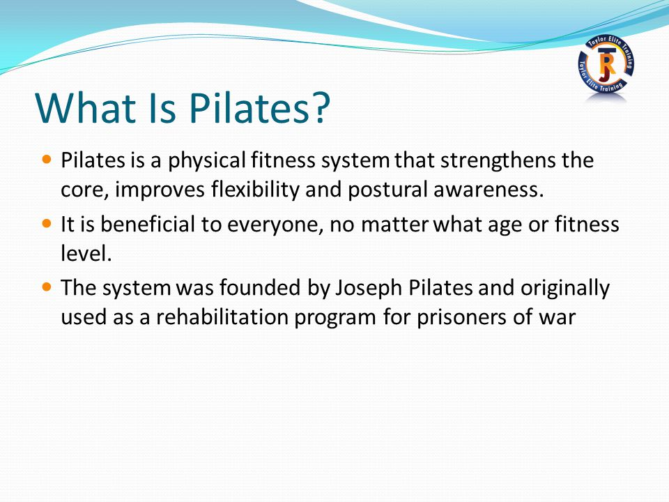 What Is Pilates.