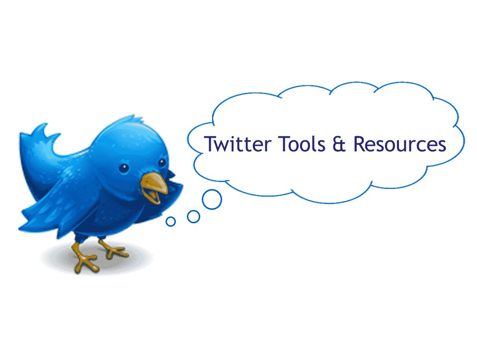 Twitter Tools & Resources
